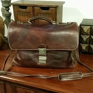 Beautiful  leather office  briefcase